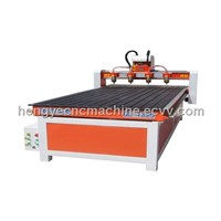 Four Heads Woodworking Machine