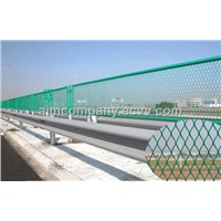 Frame Fence for Highways