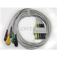 GE-Marqutte 5 LED EKG Multi-link Lead wire