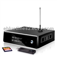 HDD Media player 1080p tv recorder  realtek 1185 ebluetimes