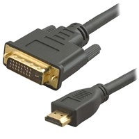 HDMI to DVI Cable / HDMI to DVI 25pin Cable