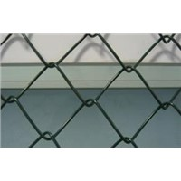 High Tensile PVC Coated Chain Link Fence