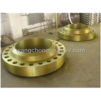 High Pressure Alloy Wn Flange RF A105