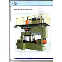 Hydraulic press (for stainless steel elbow cold forming)