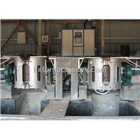 IF Steel Induction Melting Furnace 750kg
