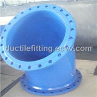 ISO2531 EN545  Double Flanged Bend for DI pipe