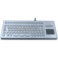 Industrial Stianless Steel Desk Top Keyboard (X-PP86D)