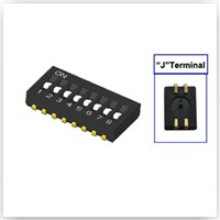 J Lead Half Pitch Dip Switch