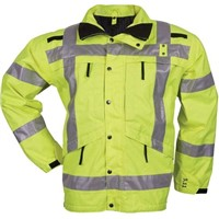Knitted Fabric Reflective Vest