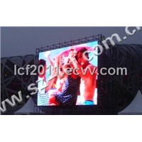 LCF P16 outdoor full color display