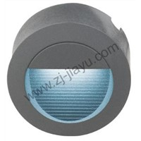 LED reccessed wall light