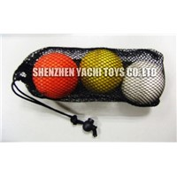 Lacrosse Balls (3pcs Net Bag )