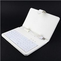 Leather case keyboard for 7 inch MID Tablet pc