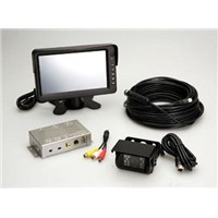 "MS-706RS 7-inch Rear-View System with Sharp CCD Infrared Camera, and 7"" TFT LCD Monitor"