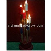 Magnet candle lamp