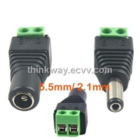 Male and Femal DC Power Jack Adapter Connector Plug