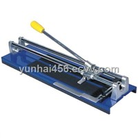 Manual Ceramic Tile Floor Cutting Machine with Iron Base