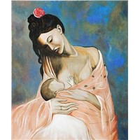 Maternity - Oil Painting Reproduction On Canvas
