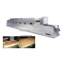 Microwave seafood curing machine