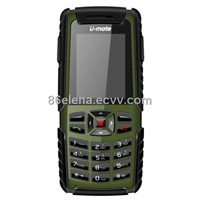 Military Waterproof Mobile Phone With GPS