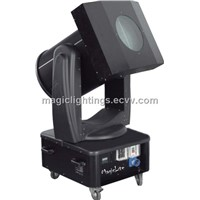 Moving head and discolor Sky searchlight with DMX512