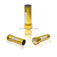 NEW flashlight speaker,sports speaker,outdoor night speaker,card speaker,mp3 bike speaker