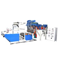 New Style High Speed Fully Automatic Double-layer Co-extrusion Stretch/Cling Film Machine