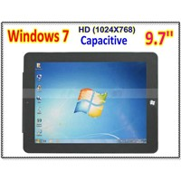 Nice Thin 9.7 inch Capacitive Windows 7 Panel PC 16G SSD Camera  WiFi Bluetooth Embedded 3G option