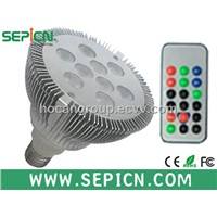 PAR38 12W dimmable/non dimmable LED spotlight