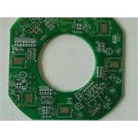PCB Laminate with Eight Layers and 1.0mm Thickness, Made of FR4 Material