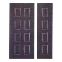 PVC Coated Steel Door