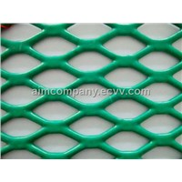 PVC Coating Flattened Expanded Metal Mesh