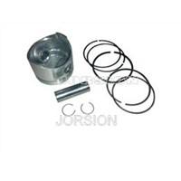 Piston & ring set ( Includes Pin & Clips )
