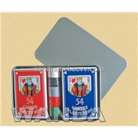 Playing Cards with Tin Box, Promotional Playing Cards