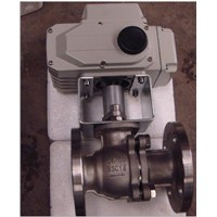Pneumatic control flanged ball valve