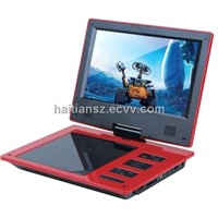 HT-968A Portable DVD with 9 Inch Swivel TFT