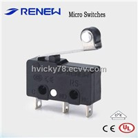 ROLLER LEVER TYPE MINIATURE MICRO SWITCH