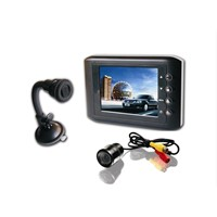 Rearview System with 3.5-inch Digital LCD Display and 10mW Transmit Power Wired Signal Priority