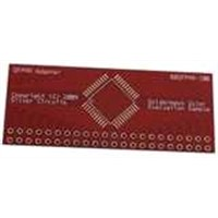 Red PCB, Made of FR-4, CEM-1 and CEM-3, with Immersion Gold/Silver, Lead HASL and TI Finish