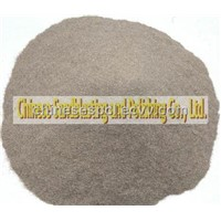 Refractory brown fused alumina