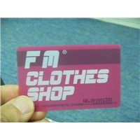 Shopping Member Card