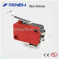 Simulated roller lever type micro switch (UL/CE Certificates)