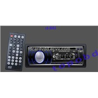 Single One Din Car DVD Player With Bluetooth+AM/FM Receiver+RDS Radio+USB/SD/MMC Slot