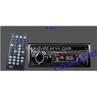 Single One Din Car DVD Player With Bluetooth+RDS Radio Function+AM/FM Receiver