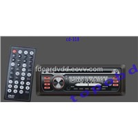 Single One Din Car DVD Player With Bluetooth, RDS Radio (cd-318)
