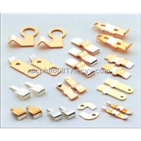 precious clad metal stamping component