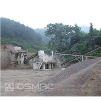 Stone production line - used for crushing granite