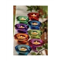 TEALIGHT CANDLE HOLDERS - SET OF 8