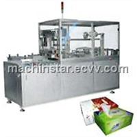 TMP-300D/400D model gas-driving automatic cellophane packaging machine