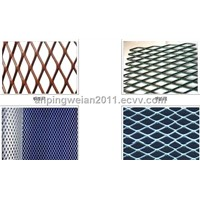 the Supply Metal Expands the Standing Net, the Pot Galvanize Steel Plate Lattice-Work,